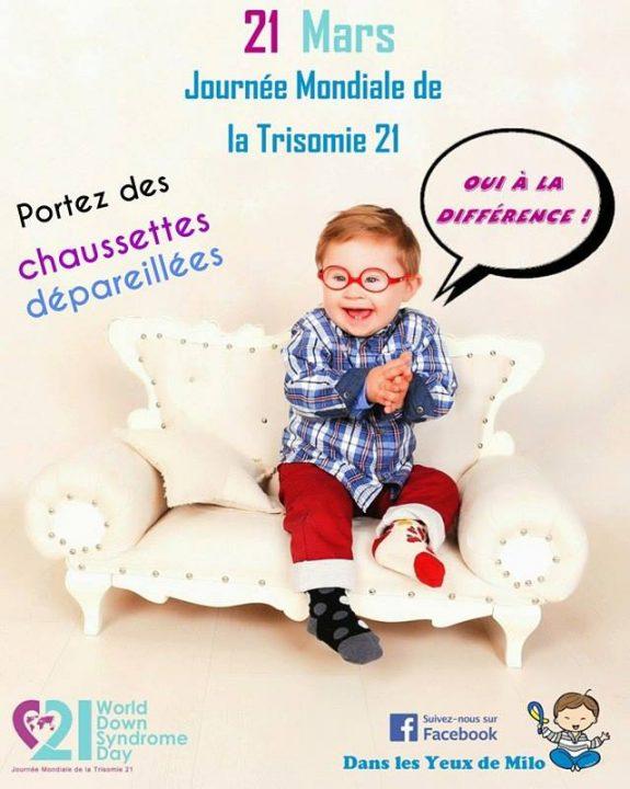Handicap - journée mondiale Trisomie 21