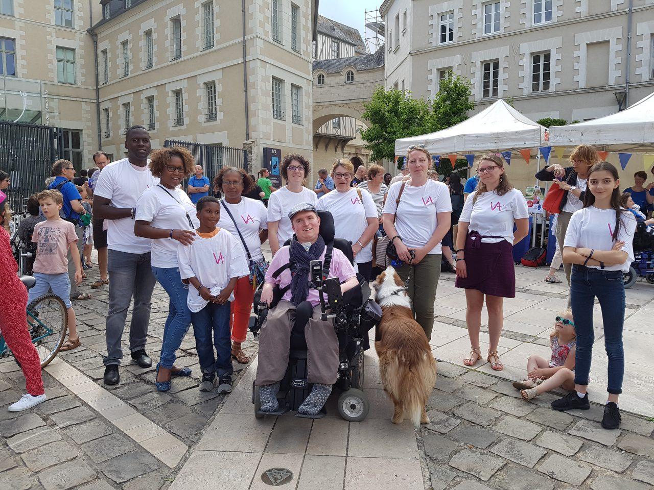 Vitalliance Angers à la Nuit du Handicap