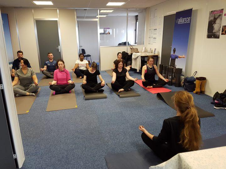 Yoga pour les auxiliaires de vie Vitalliance Lille