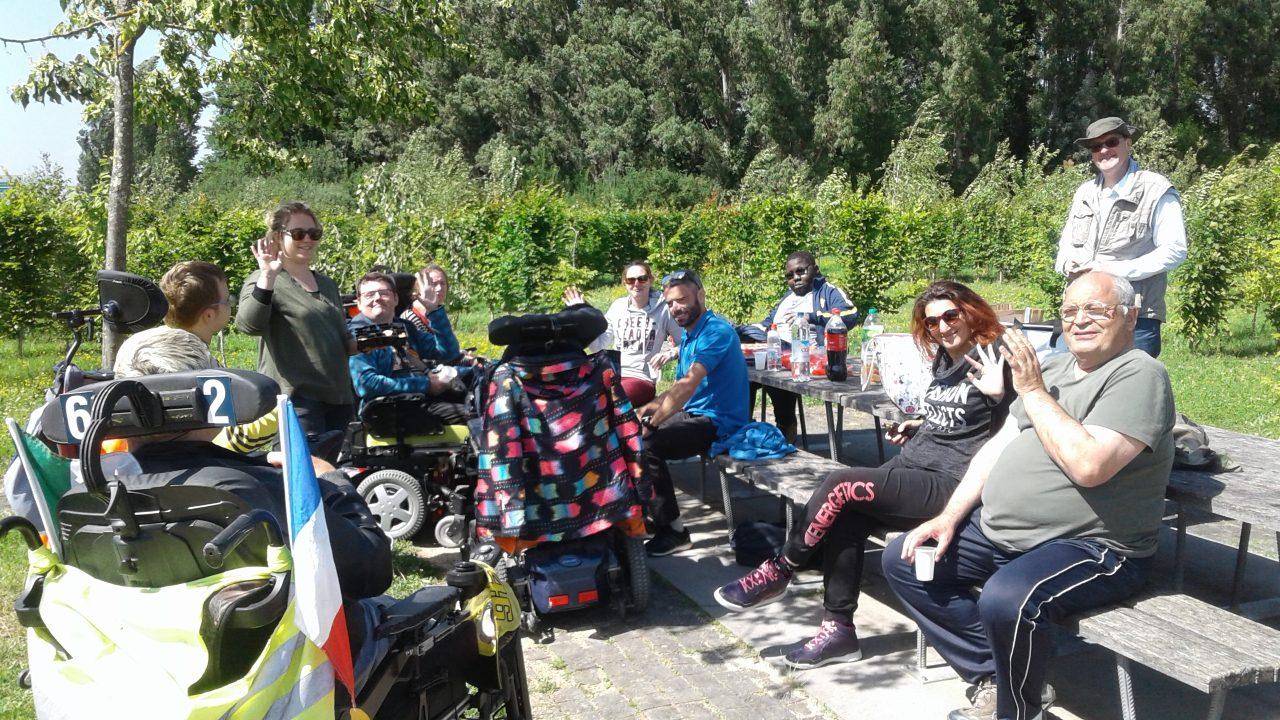 Les agences de La Roche sur Yon et Agen ont fait tester le fauteuil tout terrain électrique