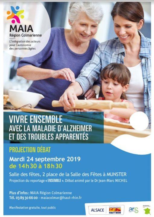 Conférence sur la maladie d'Alzheimer et troubles apparentés à Munster