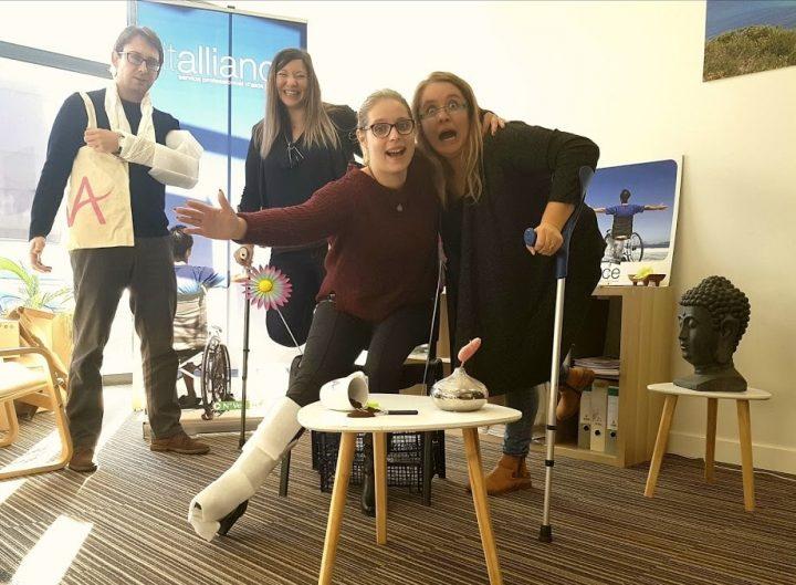 Agence Vitalliance Colmar : ambassadeur handicap