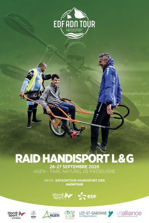 Affiche Raid handisport l&G