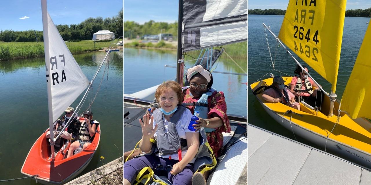 Voilier, catamaran, gymnastique douce… les initiatives sportivement géniales de l'agence de Dijon !