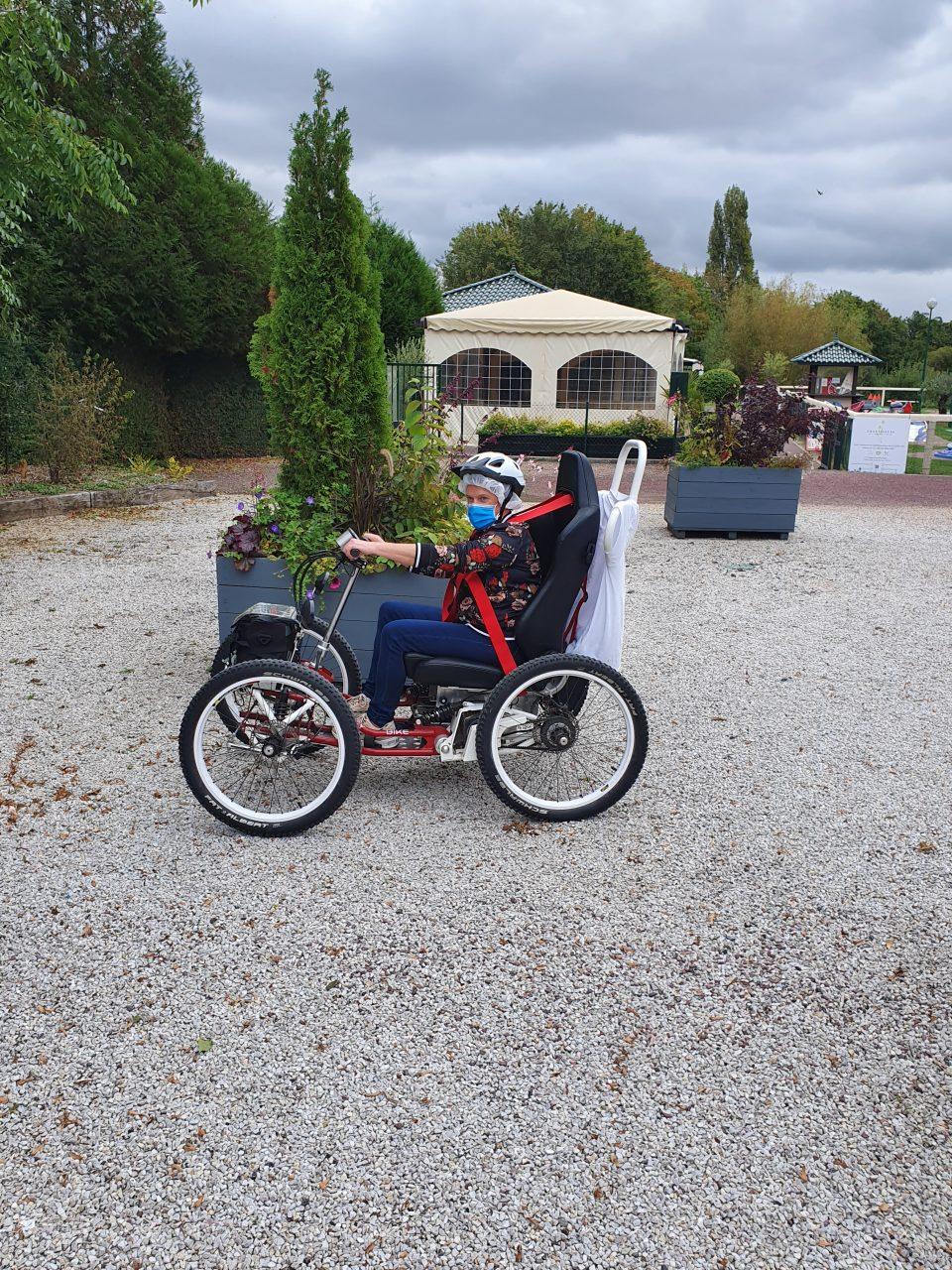 Tour de France en fauteuil tout terrain électrique : cap sur la Normandie !