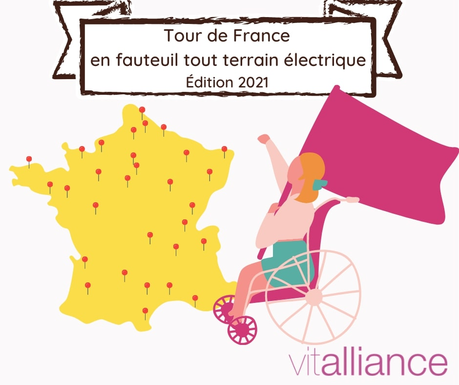 Tour de France en fauteuil tout terrain électrique :  lancement de la 2ème édition !