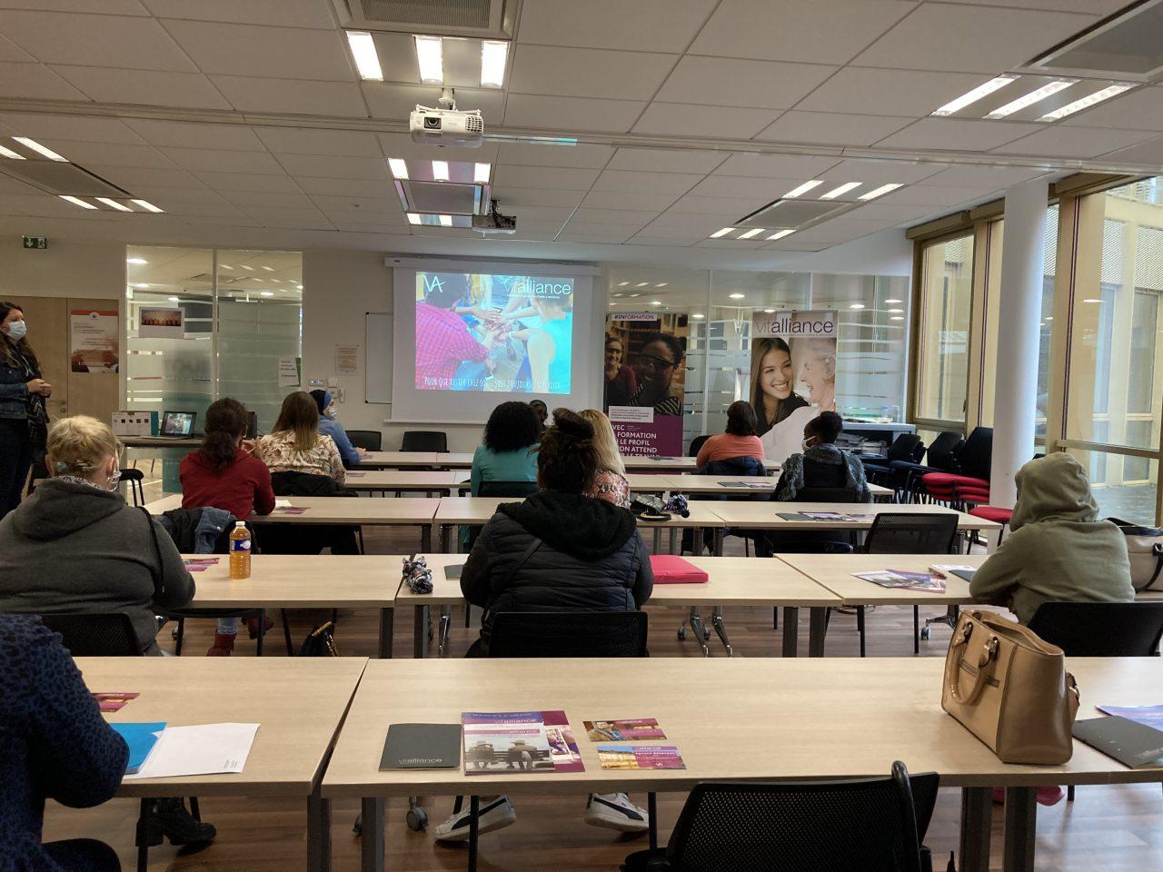 Besançon : session d'information collective avec Pôle Emploi