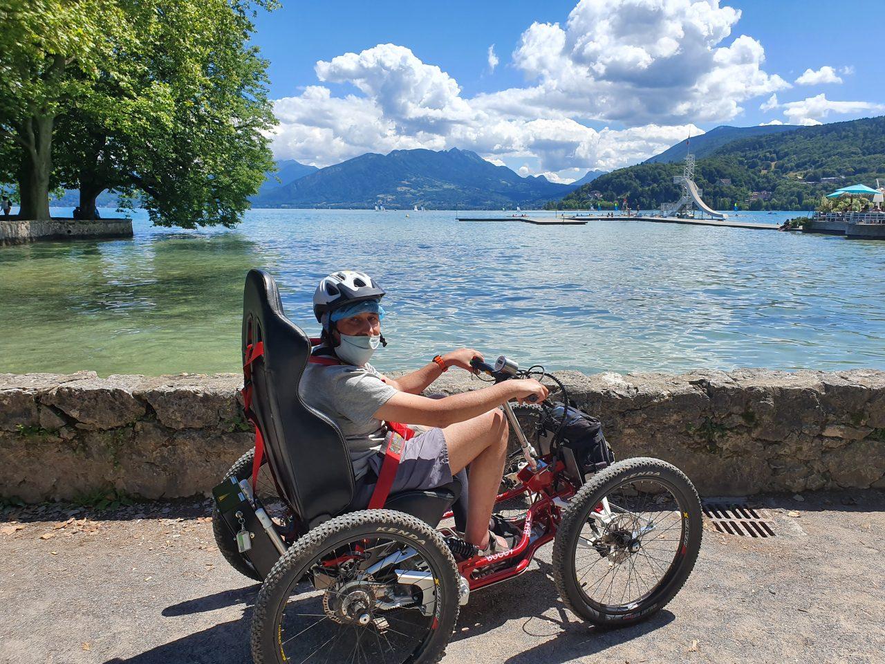 Les étapes du Tour de France en fauteuil tout terrain électrique