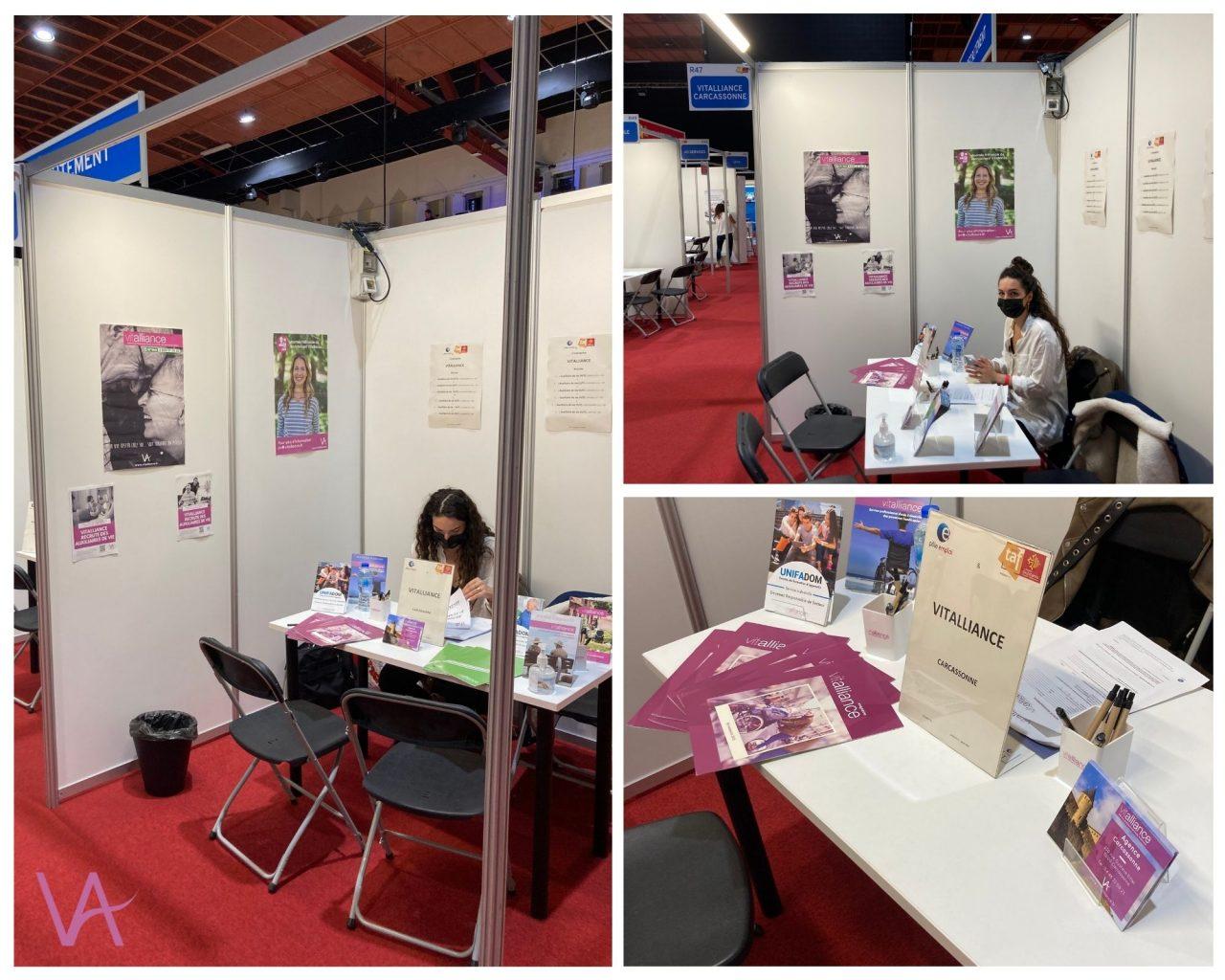 Emploi : l'agence de Carcassonne au salon TAF